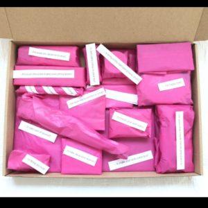 Pakketje Blijheid - cadeautjes door de brievenbus - ingepakt